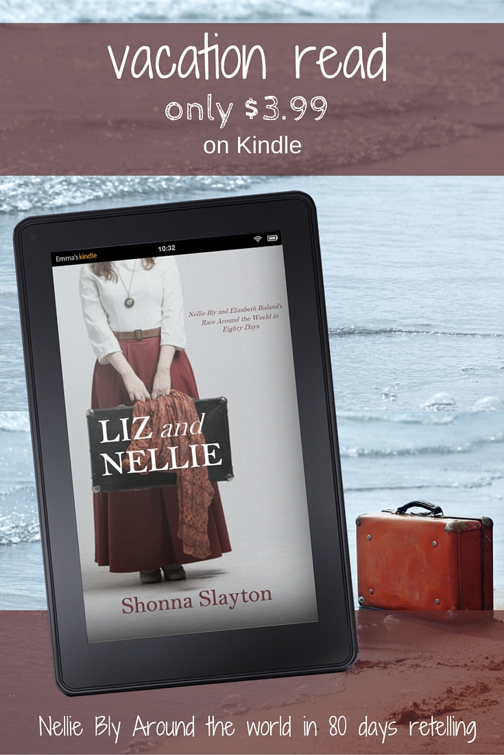 Liz and Nellie vacation ad