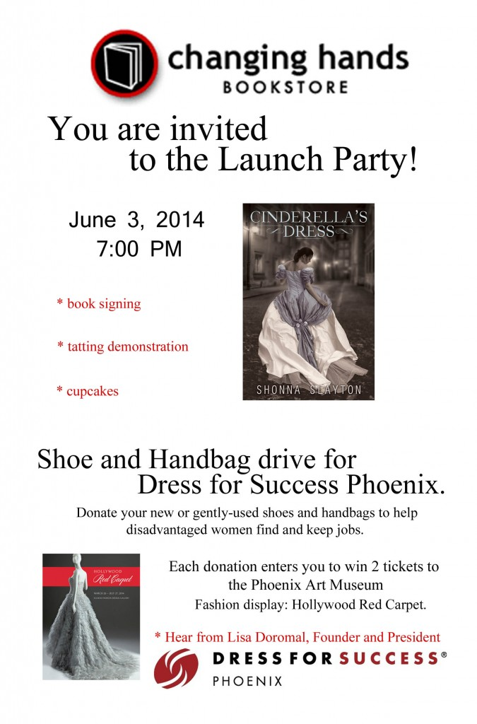 Cinderellas dress launch party