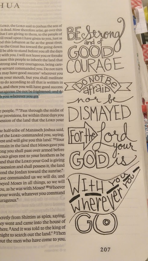 A work of heart hand lettering and bible journaling for Hand lettering bible journaling