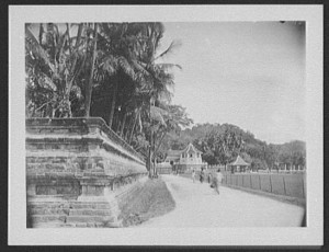 Kandy_-_street_leading_to_Dalada_Malagawa_-_Temple_of_the_Sacred_Tooth_LCCN2004707287